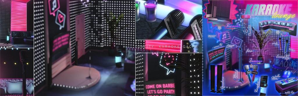FOXCITY. Karaoke Gacha - Karaoke Lounge @ The Epiphany - TeleportHub.com Live!