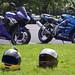 Yamaha R6 and Kawasaki ZX6R
