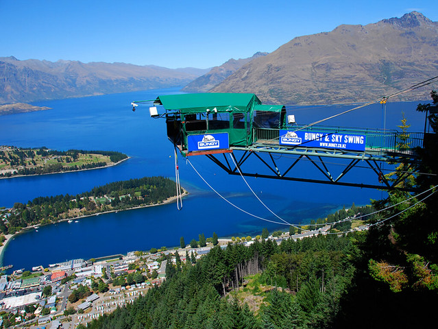 Queentown boasts a wide and extensive array of adventure tourism activities, including bungy jumping, tramping, walking,cycling,paragliding, and jet boating to name a few