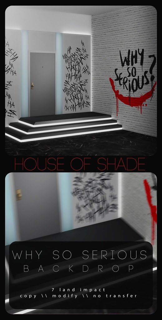House of Shade - Why So Serious - TeleportHub.com Live!