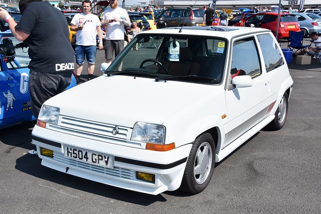 Renault 5 GT Turbo Phase 1, 2 & Raider Specification's