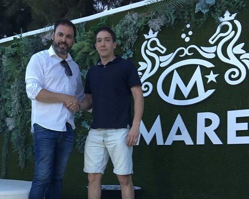 Futbolista Álvaro Guerra nuevo fichaje del At. Dos Hermanas