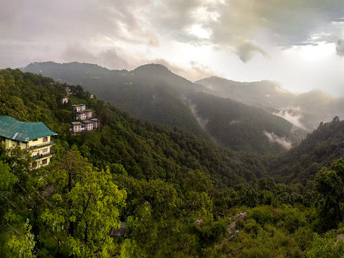 himalayas landscape mobilephone