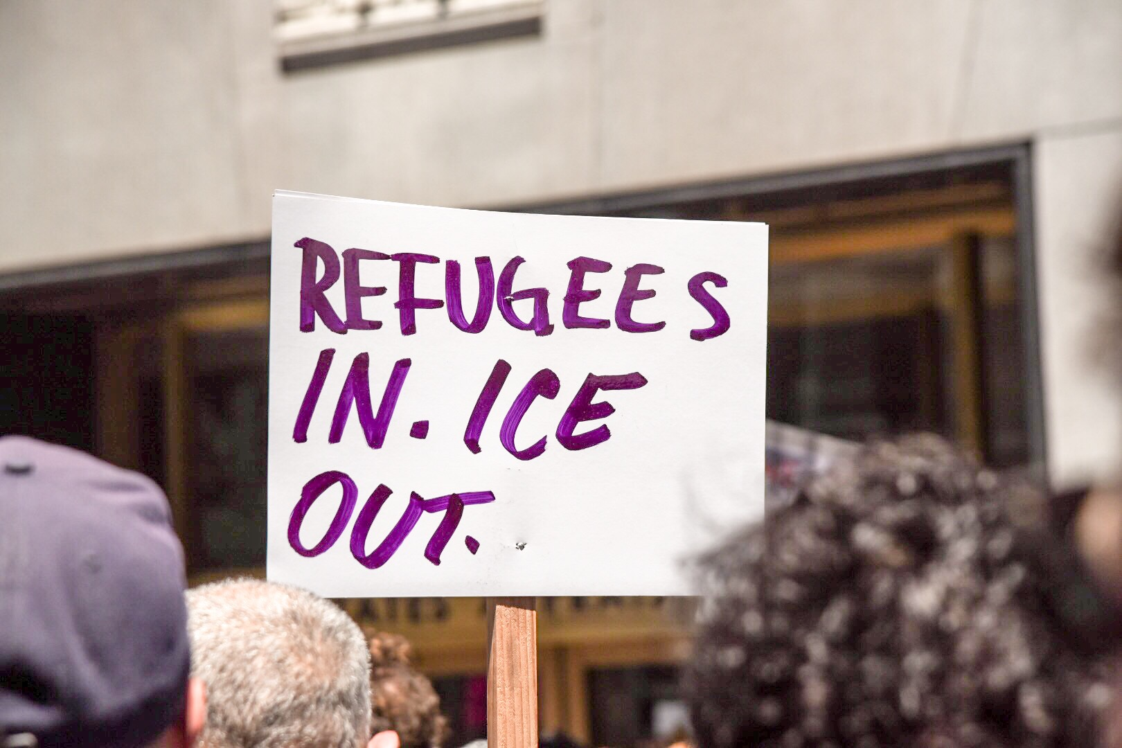 Ice protest 2018