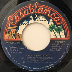 PARLIAMENT:CHOCOLATE CITY(LABEL SIDE-A)
