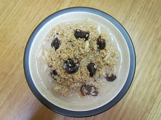 Cherry Overnight Steel-Cut Oats