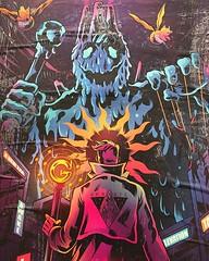 Genisis bears a passing resembles to Doctor Strange #streetart #graffitiart #graffiti #londonist #london_only #graffiti_magazine #londongraffiti #streetshooter #rustlord_unity #arteverywhere #icu_europe #icu_britain