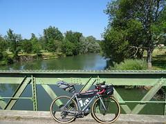 l'Ognon, à la frontière entre la Haute-Saône et le Doubs