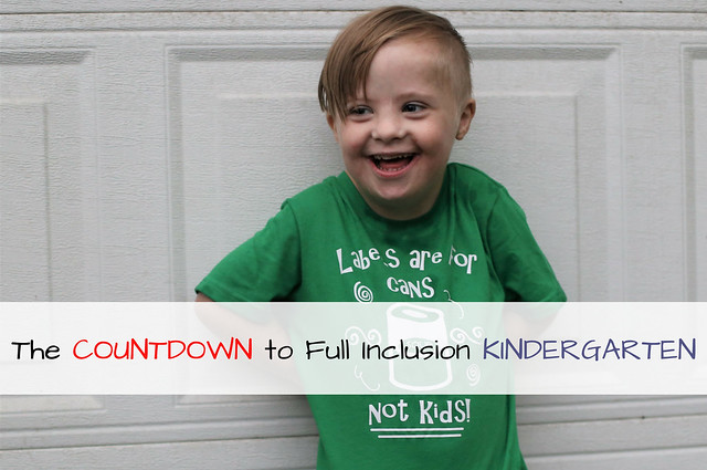 The Countdown to Full Inclusion Kindergarten