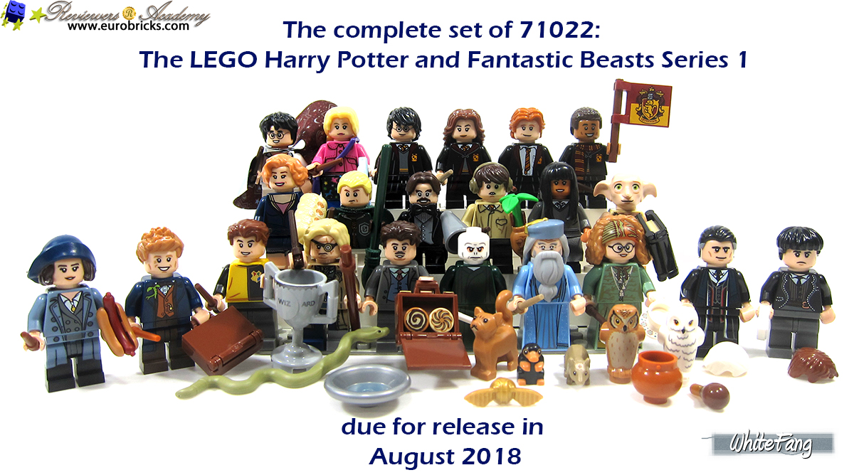 LEGO Harry Potter Series 71022 Harry Potter in Hogwarts Uniform