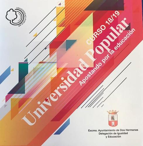 Folleto nuevo curso de la Universidad Popular