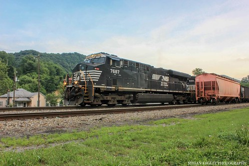 NS 745 on the Appalachia District.