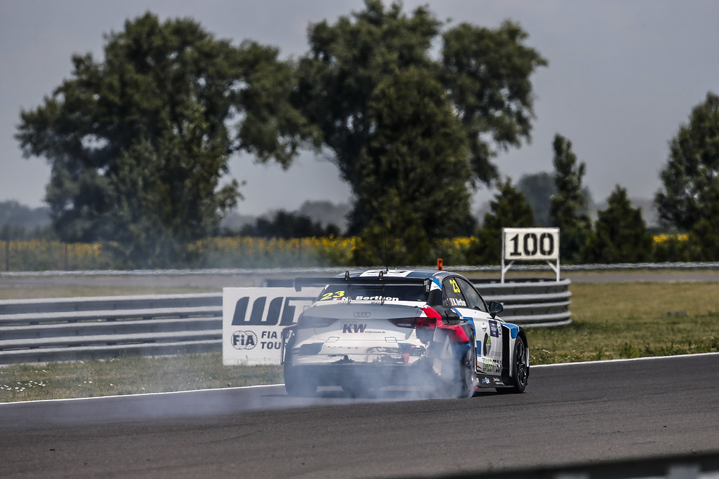 23 BERTHON Nathanael, (fra), Audi RS3 LMS TCR team Comtoyou Racing, action during the 2018 FIA WTCR World Touring Car cup race of Slovakia at Slovakia Ring, from july 13 to 15 - Photo Jean Michel Le Meur / DPPI