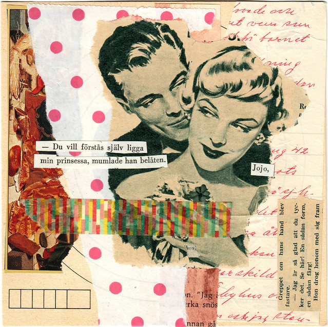 She agreed willingly - Collage no 127 by iHanna #365somethings2018