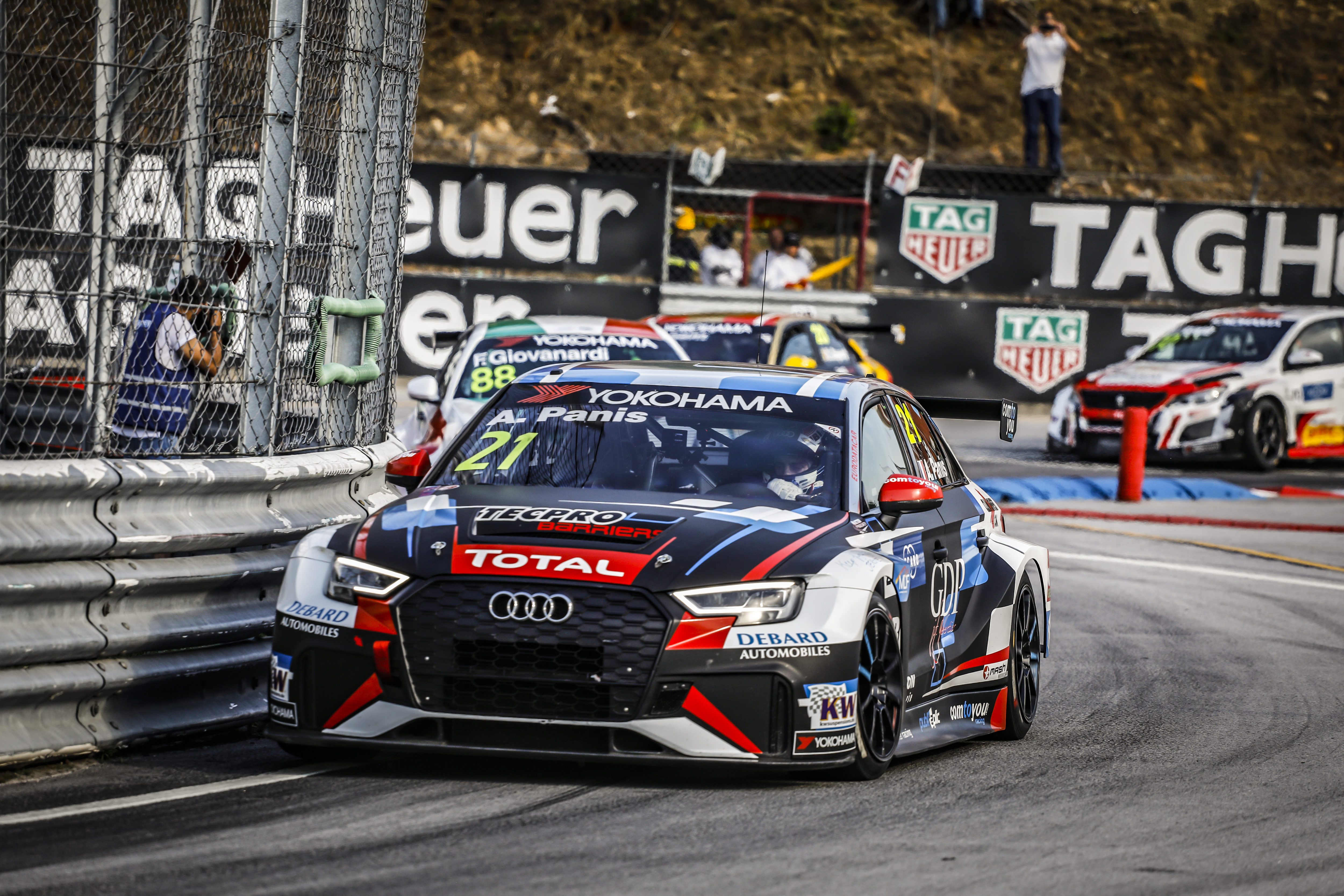 First Audi first for Panis in WTCR