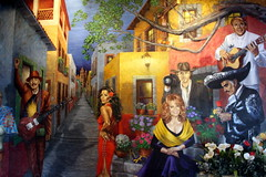 San Antonio - Dowtown: Mi Tierra - The American Dream