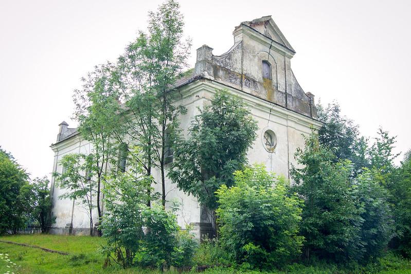 Католицький костел в с.Кульчини