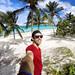 6. En uno de los palmerales de la playa Esmeralda en la provincia de Holguín