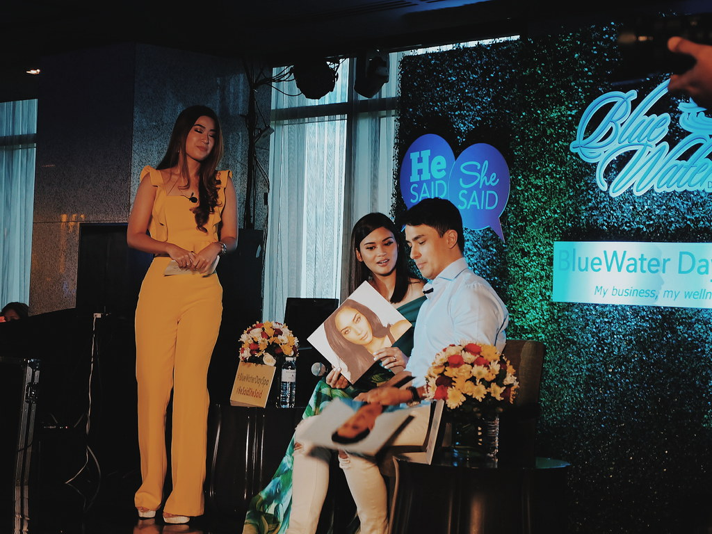 Pia Wurtzbach and Marlon Stockinger for Blue Water Day Spa