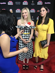Savvy & Mandy at the 2018 Radio Disney Music Awards Red Carpet in Hollywood - IMG_7767