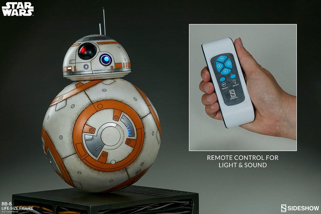 超人氣新寵物?! Sideshow Collectibles《星際大戰七部曲:原力覺醒》BB-8 1:1 比例全身雕像作品