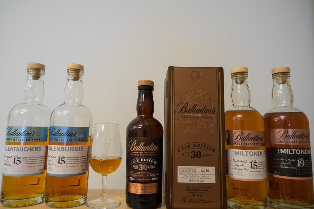 Ballantine's 30 years and its Key Malt Series