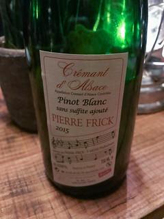 2015 Pierre Frick Cremant d'Alsace Brut, France