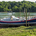 RNLB Archibald and Alexander M Paterson (retired) at Lawrenny, Pembrokeshire. Wales. UK