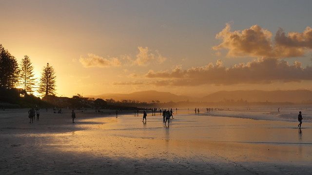 Sunset at Byron Bay, Panasonic DMC-GH4, LUMIX G VARIO 12-35mm F2.8