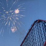Primary photo for Blackpool Pleasure Beach (Late night opening and fireworks) (07 Jul 2018)