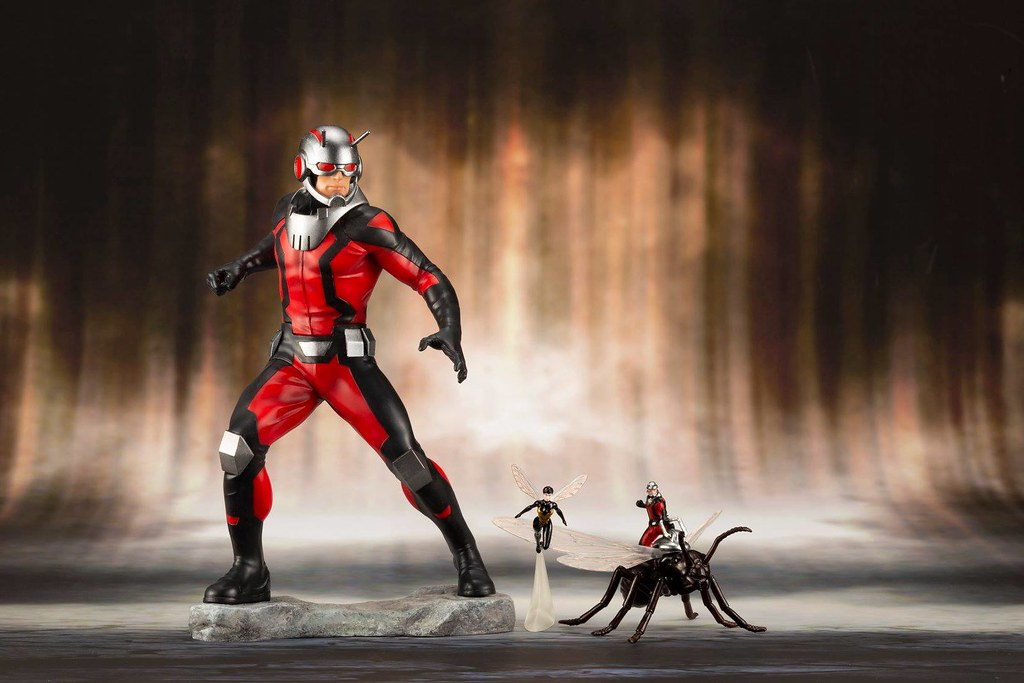 Kotobukiya ARTFX+ Marvel Ant-Man and the Wasp are Back in Action!