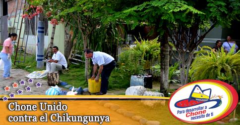 Chone Unido contra el Chikungunya