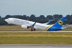 Ukraine International Airlines UR-PSX Boeing 737-8EH Winglets cn/34280