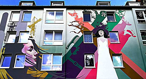 Kassel 2018.07.14. Mural 6.1 - Artist INNERFIELDS.DE