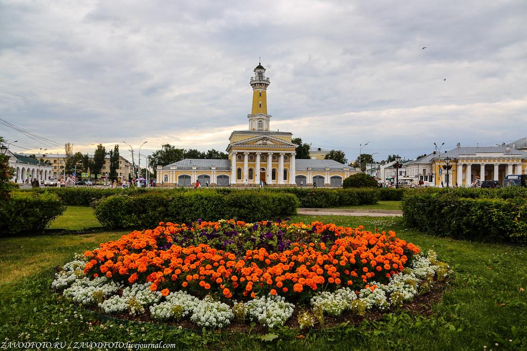 Круиз на теплоходе «Дмитрий Фурманов». Кострома
