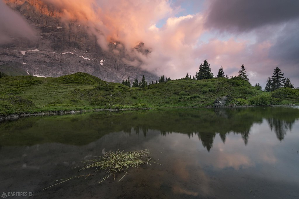 Last light - Grosse Scheidegg