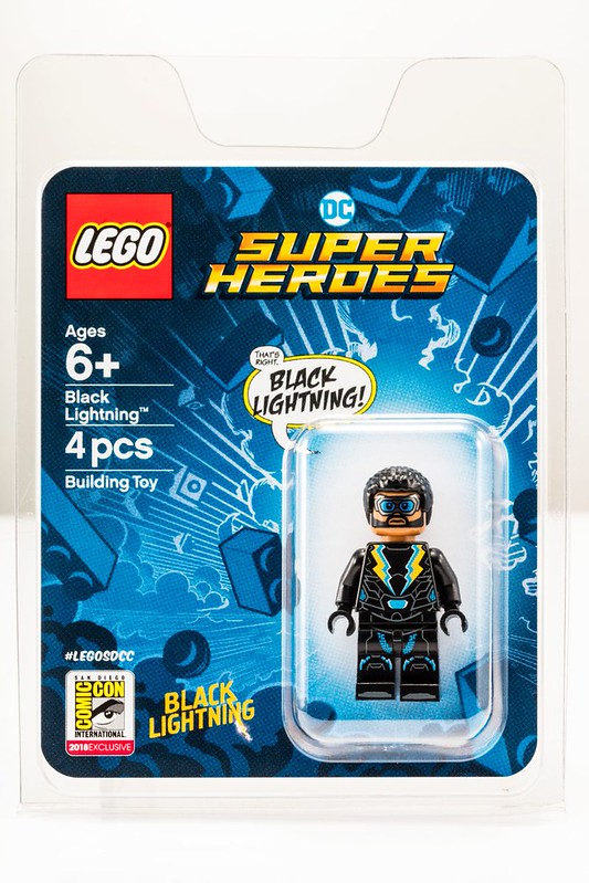 LEGO DC Super Heroes Black Lightning  - SDCC 2018