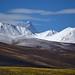 Fresh snow on Mount Nyenchen Tanglha, Tibet 2017 by reurinkjan