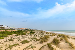 Beach La Barossa in Andalusia