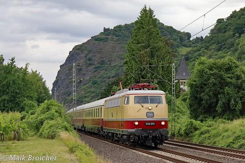 E03 001 DB in Hammerstein am 17.06.2018