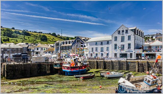 Mevagissey Cornwall UK