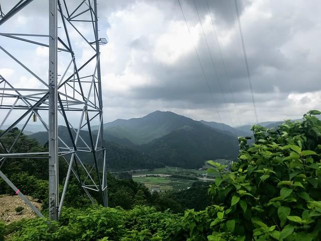 大茂山 77番鉄塔から妙法ヶ岳