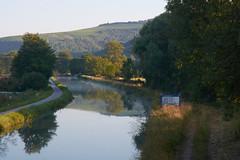 Canal du Nivernais au petit matin - Photo of Sery