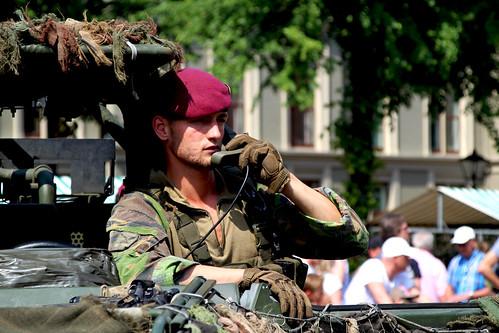 Landmachtdag in Den Haag