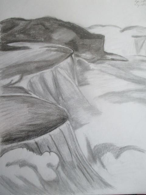 Waterfalls! Lesson 20, Canon POWERSHOT ELPH 135