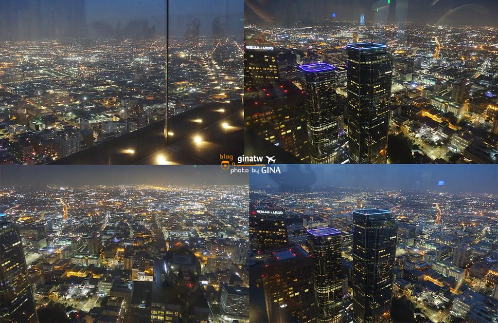 【洛杉磯自由行】Oue Skyspace線上門票|天空透明溜滑梯|聯邦銀行大廈U.S. Bank Tower+  LA市區景觀台景點 @GINA環球旅行生活