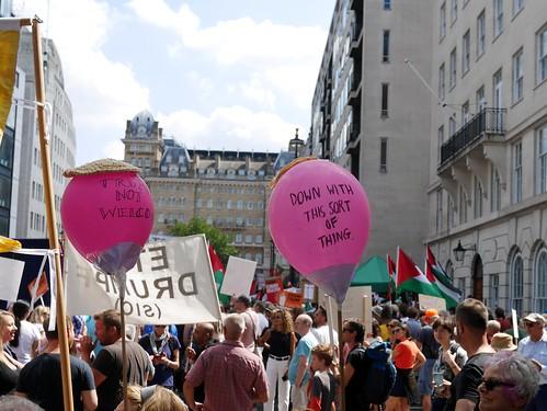 Carnival of Resistance - Stop Trump - London 2018 - 3