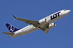 LOT Polish Airlines Boeing 737-85D MAX SP-LVB LHR 30-06-18