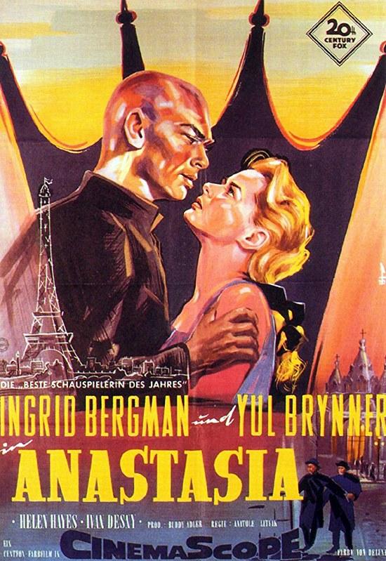 Anastasia - 1956 - Poster 5