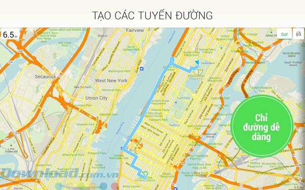 MAPS ME Pro - offline maps cho Android 4 1